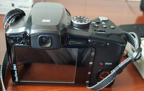 Câmera Digital Kodak Easyshare Z981 - Usada + Brinde