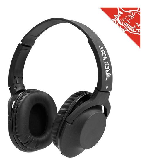 Headset Estereo ELG Rnhpbk Red Nose Com Microfone Preto