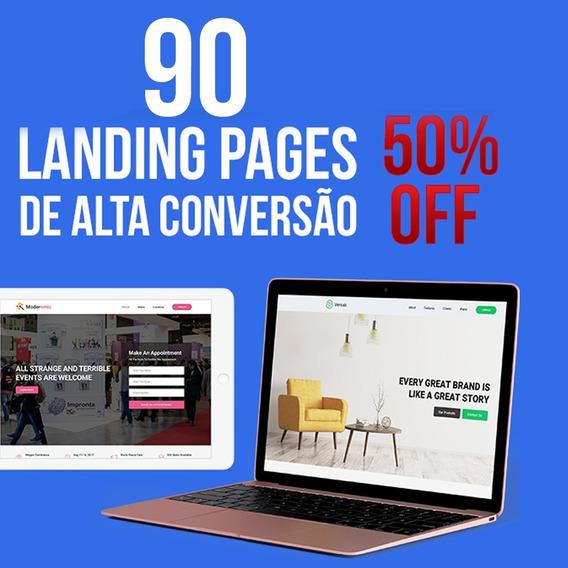 90 Landings Pages Html De Alta Conversão
