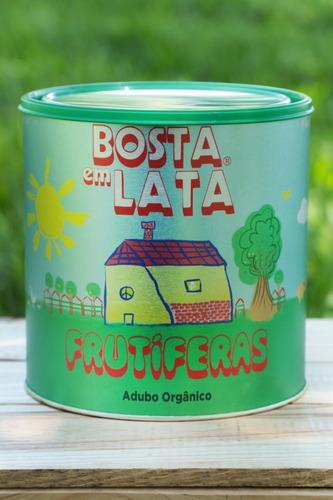 Fertilizante Orgânico Bosta Em Lata Frutíferas - 2,3 Kg