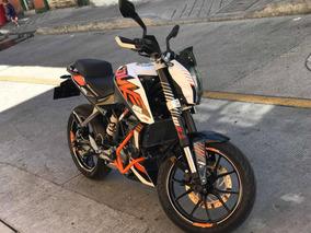 Moto Ktm 200 2016
