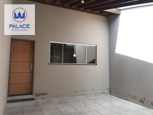 Imagem 1 de 23 de Casa Com 3 Dormitórios À Venda, 117 M² Por R$ 375.000,00 - Jardim Brasília - Piracicaba/sp - Ca0632