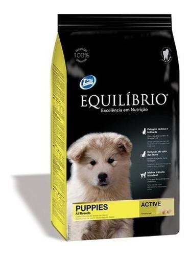 Imagen 1 de 2 de Comida Perro Equilibrio Cachorro Promo15+3kg + Envío*