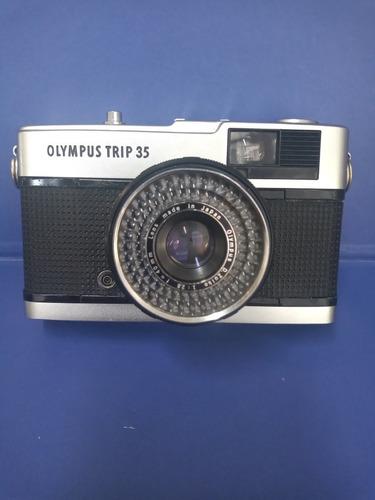 Câmera Olympus Trip 35 Funcionando Perfeitamente