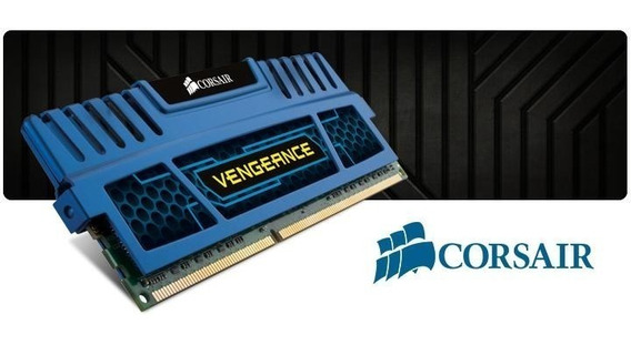 Memoria Corsair Vengeance 4gb (1x4) Ddr3 1600mhz Azul, Cmz4g