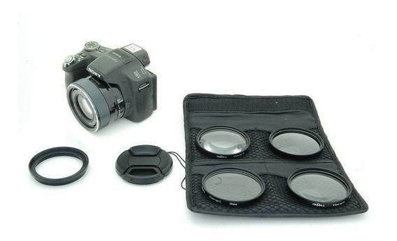 Kit Lentes Macro Sony Dsc Hx1 Dsc-hx1 1+ 2+ 4+ 10+ 58mm