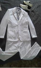 Terno Branco Completo + Sapato