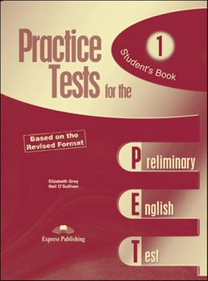 Practice Test For The Pet 1 - Student
