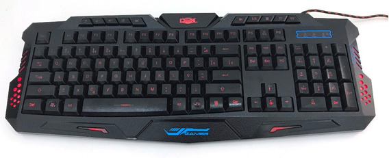 Teclado Gamer Luminoso Led Neon Usb Legends 09