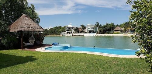 Lagos Del Sol Espectacular Casa En La Orilla Del Lago Cancun