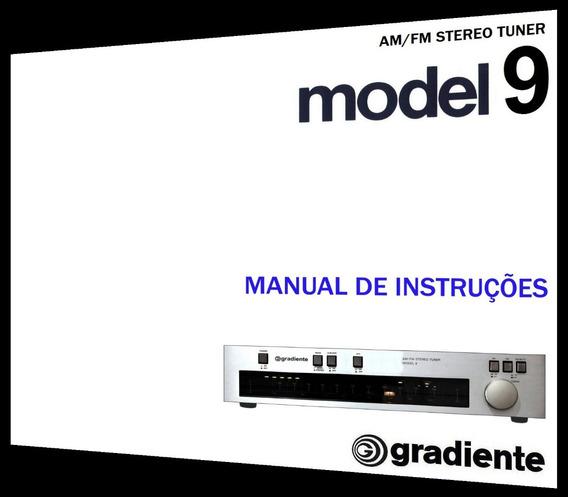 Manual Do Sintonizador Gradiente Model 9 (colorido)