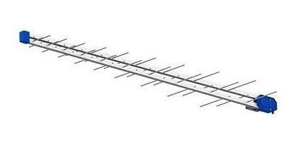 Antena Digital Log Uhf Pq45-1040hd 28 Elemen Pro Eletronic