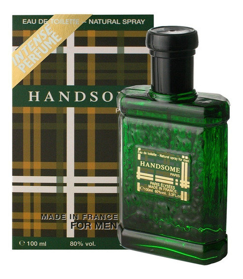 Handsome - Masculino - Edt 100 Ml - Paris Elysees