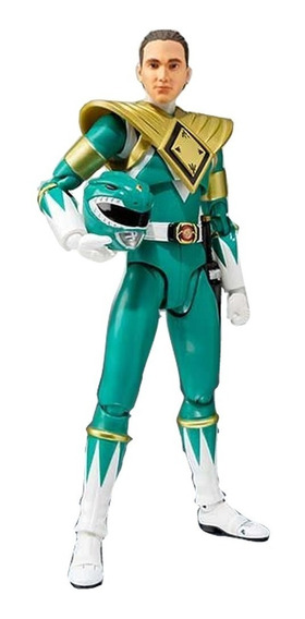 Boneco Sh Figuarts Green Power Ranger Verde Sdcc Tommy