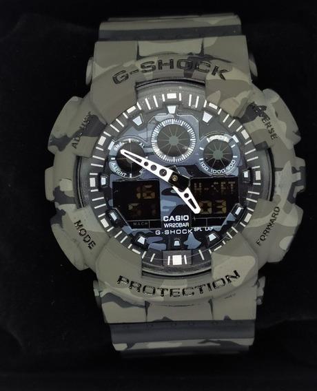 Relógio G-shock Camuflado A Prova Dágua Caixa 100% Funcional