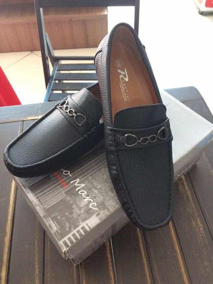 Sapato/mocassim De Luxo - Preto