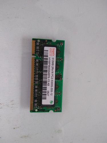 Memória Ram.hynix 512 Mb P/notebook Ddr2
