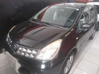 Nissan Livina 1.6 Sl Flex 2010 Completa Couro Financio 48 X