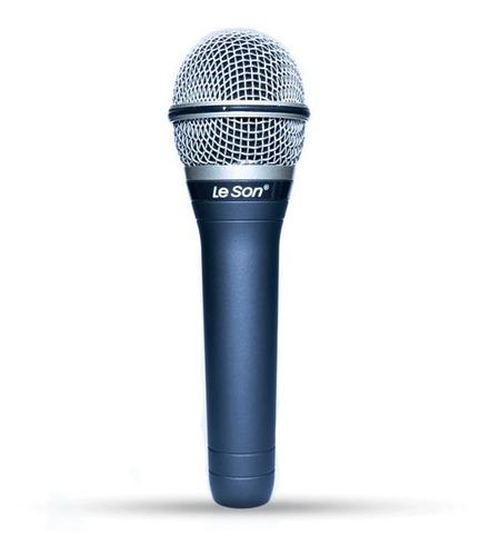 Imagem 1 de 4 de Microfone Dinâmico Leson Ls7 Com Cabo P10 5 Metros