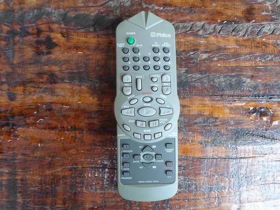 Controle Remoto Tv E Vcr Philco Pcr-90 Novo O Mais Barato