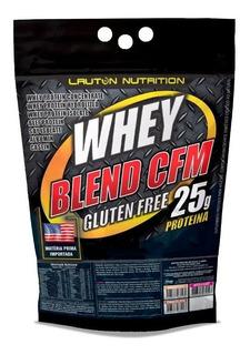 Whey Blend Gluten Free 900g Concentrado Isolado Hidrolisado