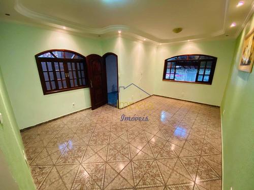 Casa Com 2 Dormitórios À Venda, 156 M² Por R$ 265.000,00 - Parque Novo Horizonte - São José Dos Campos/sp - Ca0086