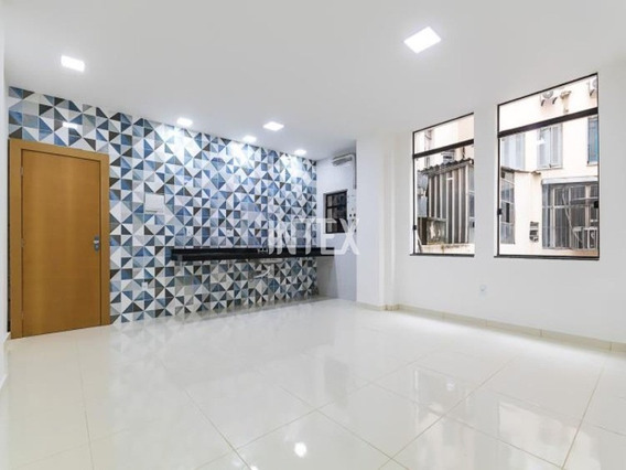Apartamento Para Venda Com 2 Quartos No Centro Do Rio - Ap00753 - 67695931