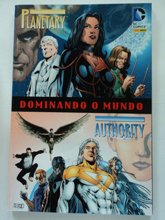 Hq-planetary:authority:dominando O Mundo:dc Comics:panini