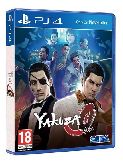 Jogo Yakuza 0 Ps4 Disco Fisico Game Novo Lacrado Original