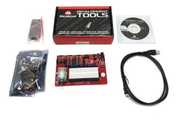 Placa De Desenvolvimento Microchip Dm163045 Controlador Pic