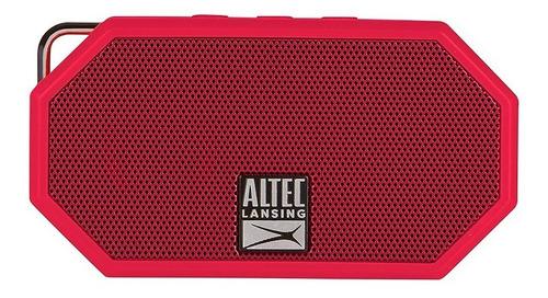 Parlante Portable Bluetooth Altec Lansing Mini H2o - Rojo