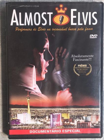 Dvd Almost Elvis Documentário Especial