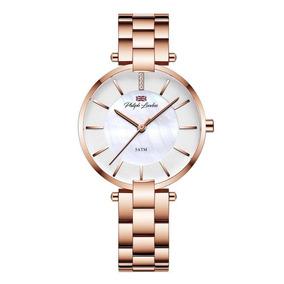 Relógio Feminino Analógico Rose Sofisticado Pl81036113f