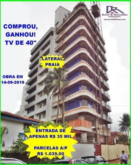 Apartamento 2 Dormitórios Para Venda Em Praia Grande, Vila Caiçara, 2 Dormitórios, 1 Suíte, 1 Banheiro, 1 Vaga - Ap00116