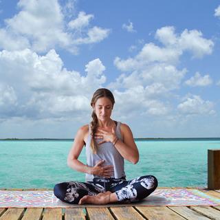 Toalla De Microfibra Para Mat De Yoga. Arte Huichol