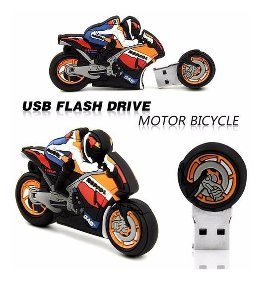 Pen Drive Moto Motocicleta 32gb Personalizado Usb 2.0