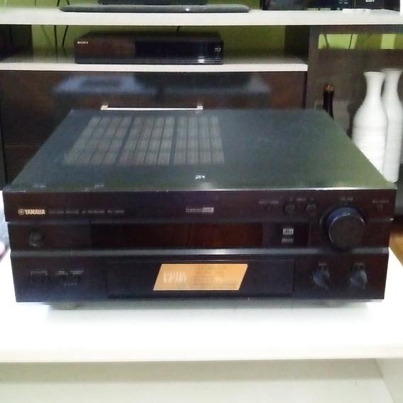 Home Theaters Yamaha Receiver Rx-v800 Som S/ Controle E Com Defeito Não Liga