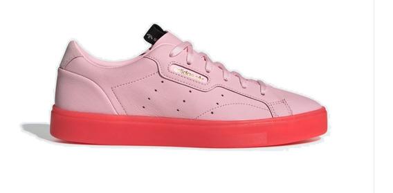 Tenis adidas Sleek Color Rosa