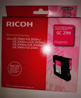 Ricoh Gc 21m Cartucho De Tinta Original Magenta