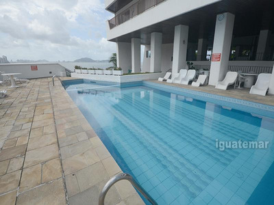 Cobertura Duplex Com Vista Para O Mar No Guaruja - A3214mll