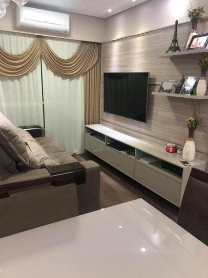 Residencial Villa Real - Apartamento A Venda No Bairro Jardim Bela Vista - Americana, Sp - Ap59790