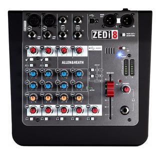 Mixer Consola Allen & Heath Zedi8 Usb Cuotas