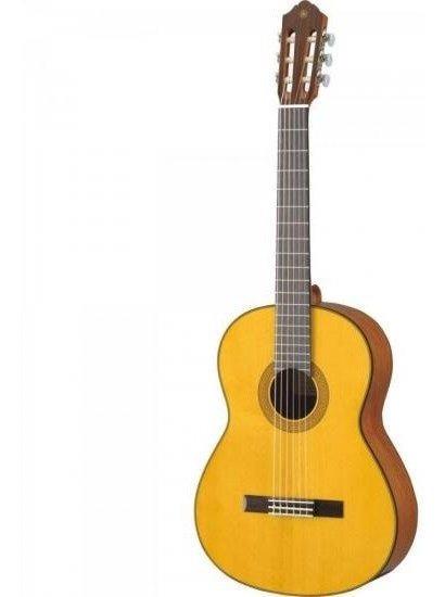 Violão Acústico Clássico Nylon Cg142s Natural Yamaha