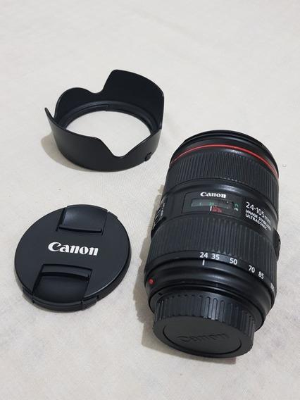 Lente Canon 24-105mm F4 Série L Ii Super Nova!