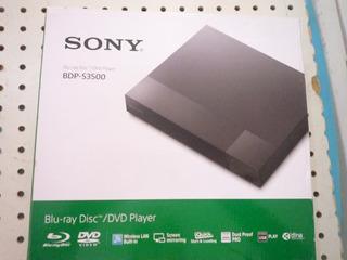 Blu Ray Sony Bdp S3500 Wifi Nuevo + Regalos