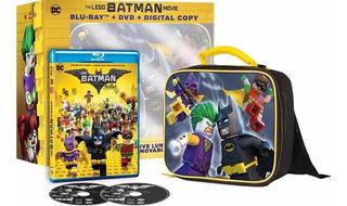 Lego Batman Pelicula En Blu-ray + Dvd + Cop Dig + Lonchera