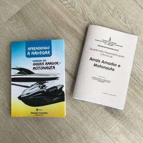 Livro Arrais Amador E Motonauta + Questionário