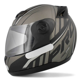 Capacete Moto Preto/cinza G6 Masculino Pro Tork Promoção
