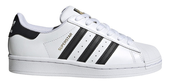 Zapatillas adidas Originals Moda Superstar J Bl/ng