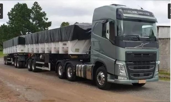 Volvo Fh 540 6x4 C/ Bi-caçamba 2016 Guerra Doly Ent+parcelas